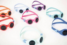 BabyPyke Sunglasses, Ergonomic and Skin-Friendly Made with TERMOLAST M from KRAIBURG TPE
